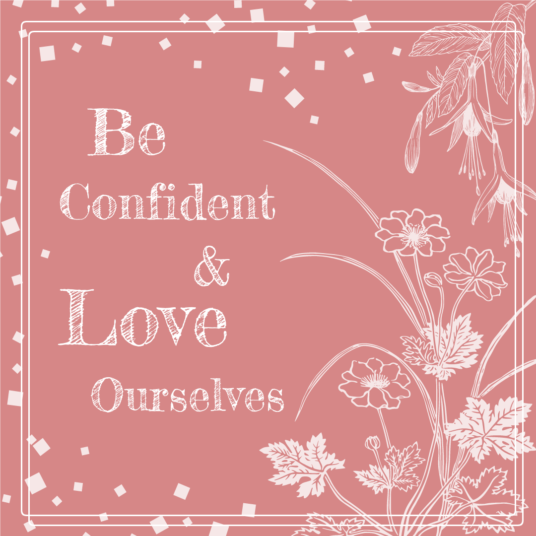 Instagram Post template: Pink Love Ourselves Instagram Post (Created by InfoART's Instagram Post maker)