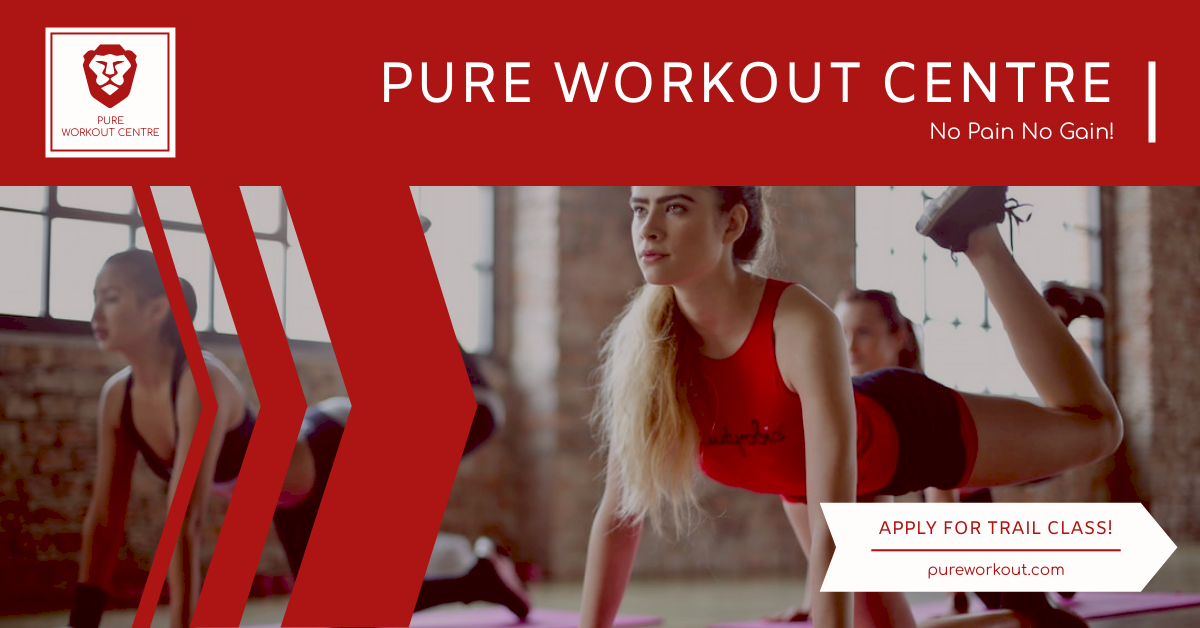 Facebook Ad template: Red Fitness Centre Photo Facebook Ad (Created by InfoART's Facebook Ad maker)