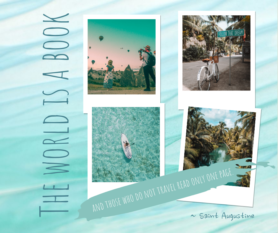 Facebook Post template: Travel Paradise Facebook Post (Created by Collage's Facebook Post maker)