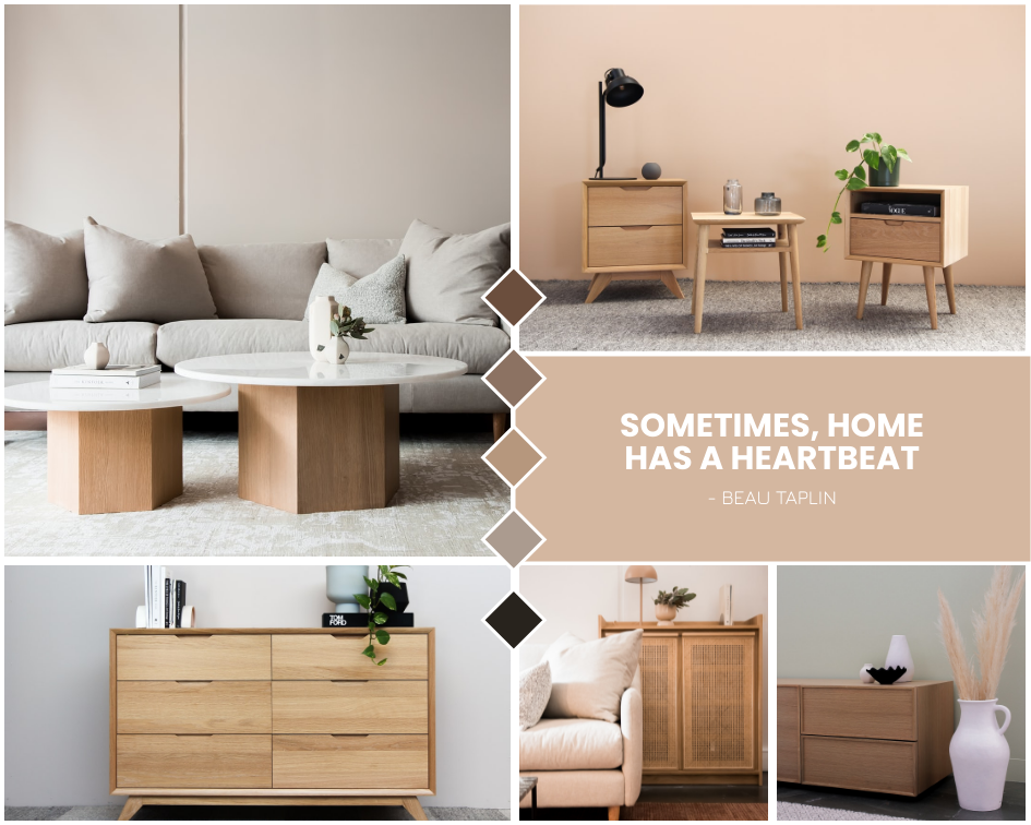 Mood Board template: Home Furniture Inspiration Mood Board (Created by Collage's Mood Board maker)