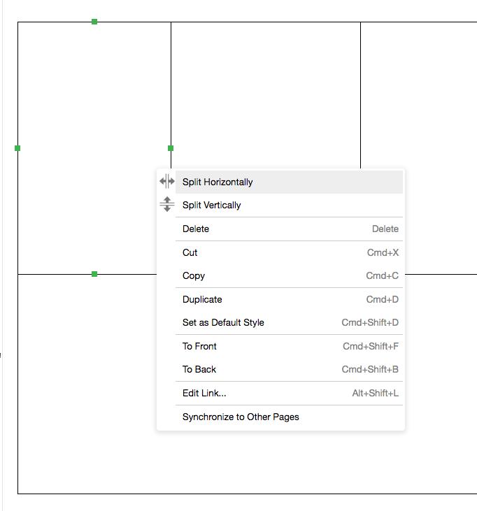 split tool menu