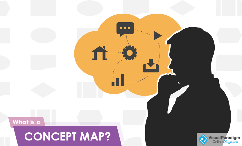 What is concept map diagram?