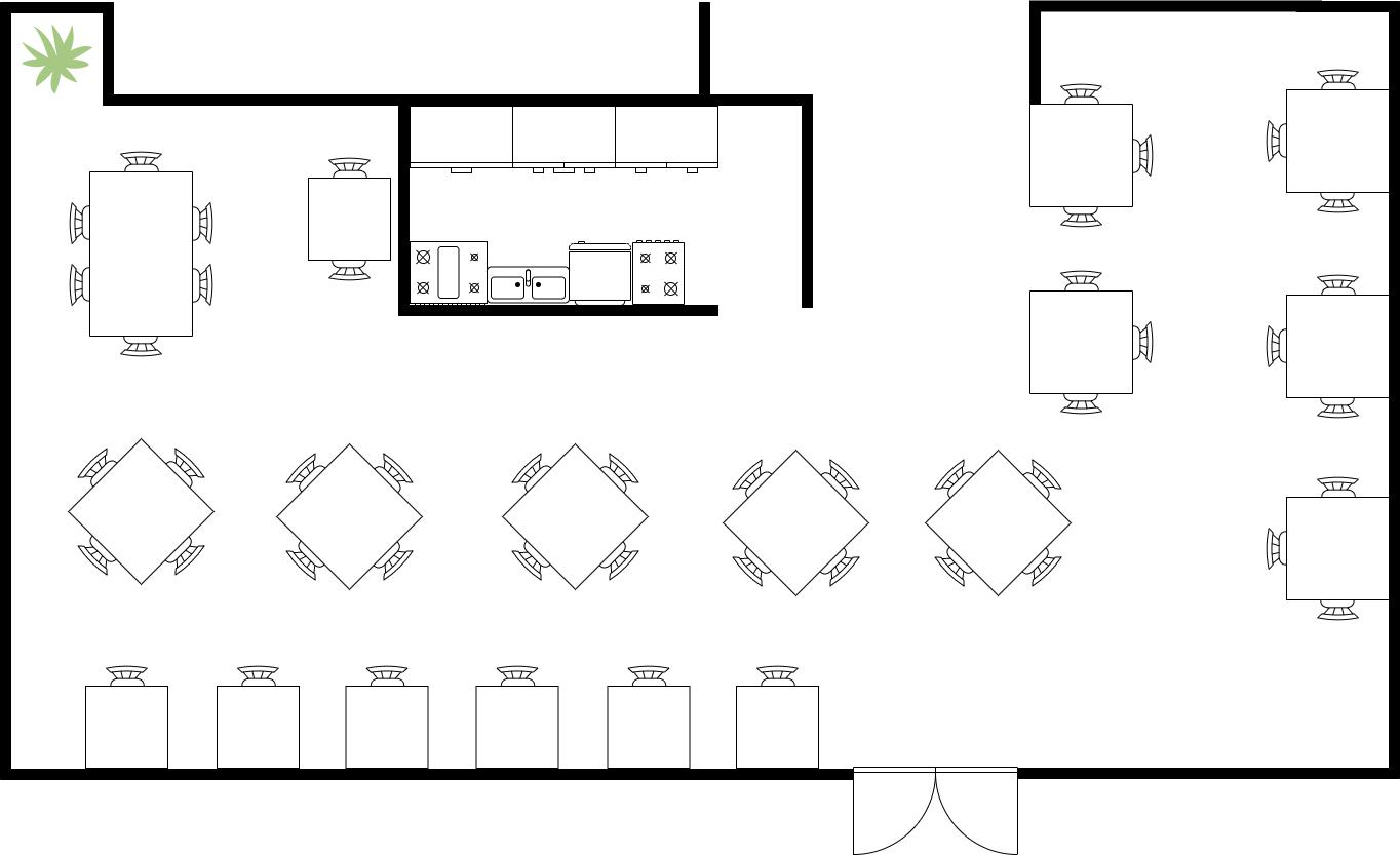 Seating plan diagram template