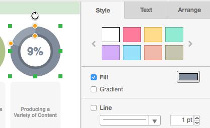 Visual Paradigm infographic editor